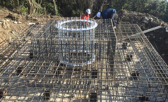 施工業者としての経験を活かした基礎工事